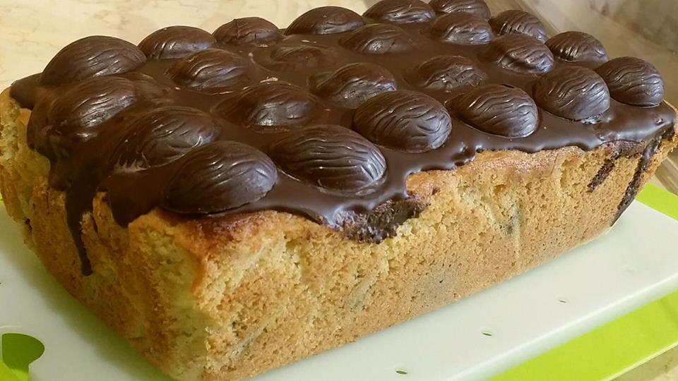dolce al cioccolato fondente di Pasqua - Cuore di Pane